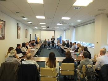 """Spotkanie firm z branży IT z uczestnikami w ramach V edycji programu """"Testowanie Oprogramowania"""""""